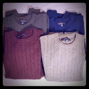 4X Croft & Barrow sweaters